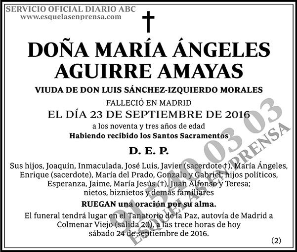 María Ángeles Aguirre Amayas
